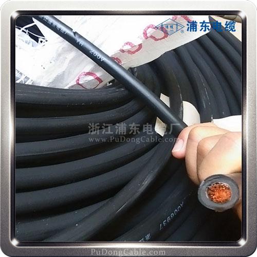 焊把线-规格50-电焊机电缆