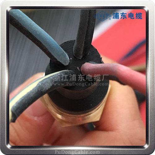 防水密封性压头排污泵电缆